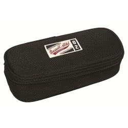 RUSSEL ATHLETIC Russell Athletic Pencil Case Oval Black Twain Rah 1 391-53772 5054600282460