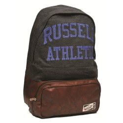 RUSSEL ATHLETIC Russell Athletic Backpack Raz Winter Charcoal Marl Dazzling Blue Raz26 391-63721 5054600369109
