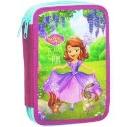 GIM Double Pencil Case Princess Sofia The First Ready For Fun 340-03100 5204549103191