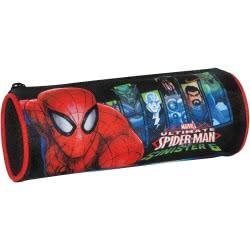 GIM Σχολική Κασετίνα Βαρελάκι Spiderman Sinister 6 337-66140 5204549103221