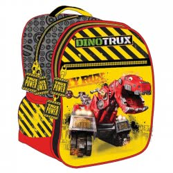 GIM Primary School Oval Backpack Dinotrux Ty Rux 345-04031 5204549104204