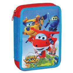 GIM Double Pencil Case Super Wings 344-50100 5204549104532