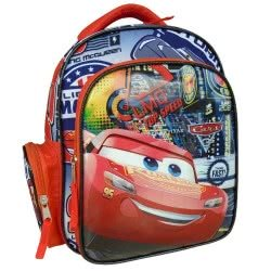 PAXOS Primary School Oval Backpack Cars Piston Cup 53883 8414778538832