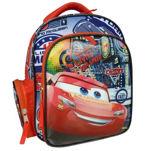 82620eb4360 PAXOS PRIMARY SCHOOL OVAL BACKPACK CARS PISTON CUP 53883 | Toys-shop.gr