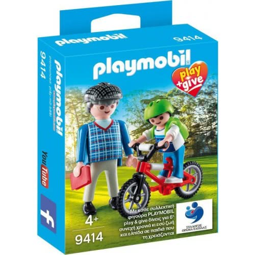 Playmobil Play & Give Grandfather With Child 9414 4008789094148
