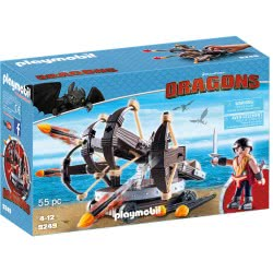 Playmobil Ο Έρετ Με Τετραπλή Βαλλίστρα Και Βέλη Φωτιάς 9249 4008789092496