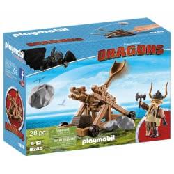 Playmobil Ο Σκόρδος Με Καταπέλτη 9245 4008789092458