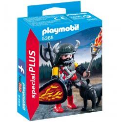 Playmobil Πολεμιστής Με Λύκο 5385 4008789053855