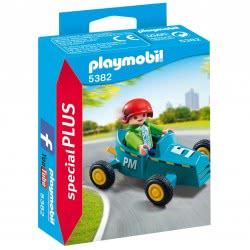 Playmobil Αγοράκι Με Go-Kart 5382 4008789053824