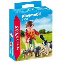 Playmobil Εκπαιδεύτρια Σκύλων 5380 4008789053800