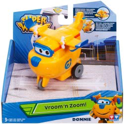 GIOCHI PREZIOSI Super Wings Vroon 'N Zoom Basic Figures With Wheels - 4 Designs UPW03000 8056379011705