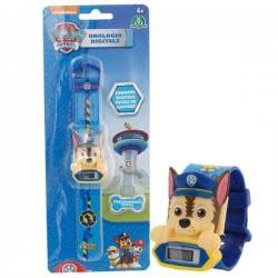 GIOCHI PREZIOSI Paw Patrol - Ψηφιακό Ρολόι - 4 Σχέδια PWP21000 8056379013785
