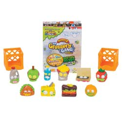 GIOCHI PREZIOSI The Grossery Gang Collectable Figures 10 Pack - Series 2 GGA14000 8056379025450