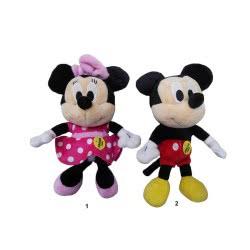 GIOCHI PREZIOSI Mickey Mouse Club House Mini Λούτρινα Με Ήχους - 2 Σχέδια MKE03000 8056379041849