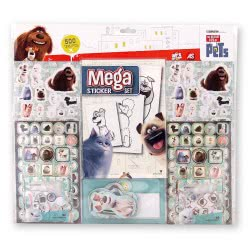 As company Mega Sticker Set The Secret Life Of Pets 1090-08088 5203068080884