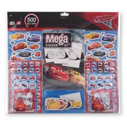 As company ΑΥΤΟΚΟΛΛΗΤΑ MEGA STICKER SET CARS 1090-08089 5203068080891