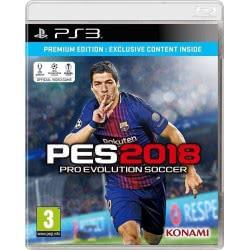 KONAMI PS3 Pro Evolution Soccer 2018 Premium Edition - Greek Voice And Greek Teams 4012927059401 4012927059401