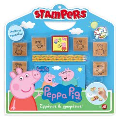 As company Set Stampers Peppa 1023-63026 5203068630263
