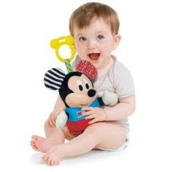 Clementoni baby Baby Clementoni Mickey Κουδουνίστρα-Χνουδωτό 1000-17165 8005125171651
