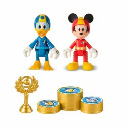 As company Set With 2 Figures Mickey Και Donald Roadster Racers 1003-82479 8421134182479