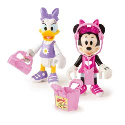 As company Set With 2 Figures Minnie And Daisy Shopping 1003-82547 8421134182547