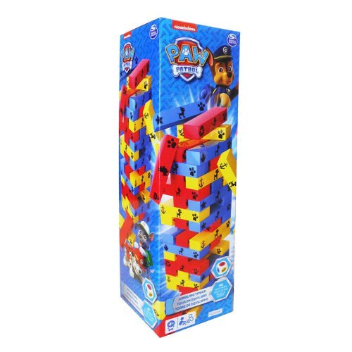 GIOCHI PREZIOSI Board Game Tower With Wooden Bricks Paw Patrol PWP50000