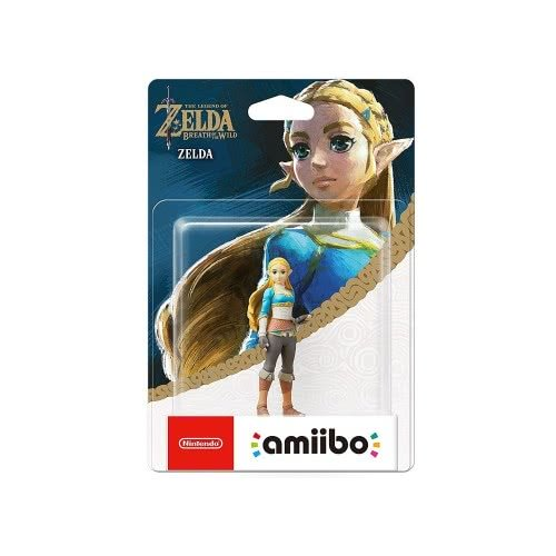 Nintendo Amiibo Φιγούρα Zelda (The Legend of Zelda: Breath of the Wild) AMII-0225 045496380298