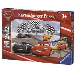Ravensburger Παζλ 2x12τεμ Cars 3 Piston Cup 07609 4005556076093