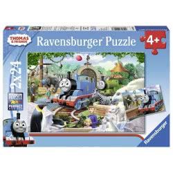 Ravensburger Παζλ 2x24τεμ Τόμας το τρενάκι 09043 4005556090433