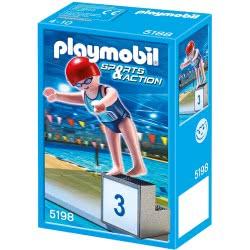 Playmobil Sports Action Κολυμβήτρια 5198 4008789051981