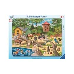 Ravensburger Παζλ Κορνίζα Στο Αγρόκτημα (30-48τ) 05-06777 4005556067770