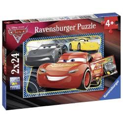 Ravensburger Παζλ 2x24τεμ Cars 3 07816 4005556078165