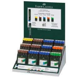 Faber-Castell Περιέκτης με 12 μύτες 1.4mm B για μηχανικό μολύβι 120544 4005401214113