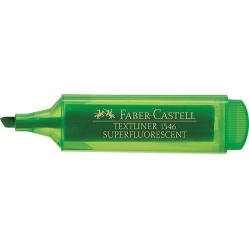 Faber-Castell Μαρκαδόρος Textliner υπογραμμίσεως Πράσινο 154663 4005401546634