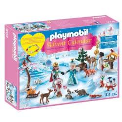 Playmobil Advent Calender Royal Ice Skating Trip 9008 4008789090089
