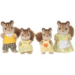 Epoch Sylvanian Families: Οικογένεια Walnut Spuirrel 4172 5054131041727