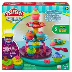 Hasbro Play-Doh Πύργος με κεκάκια Cupcake tower A5144 5010994777531