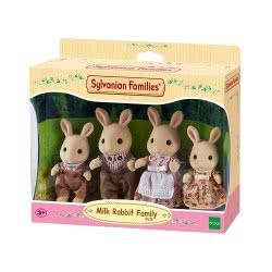 Epoch Sylvanian Families: Οικογένεια Milk Rabbit 4108 5054131041086