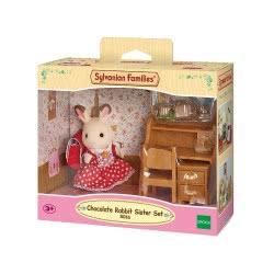 Epoch Sylvanian Families: Chocolate Rabbit Sister Set 5016 5054131050163