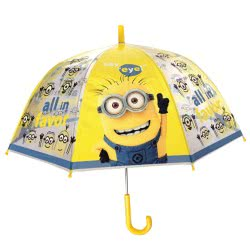 chanos Kids Umbrella 48Cm Poe Domme Shape Minions - All In Favor 4799 5203199047992