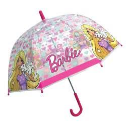 chanos Kids Umbrella 48Cm Poe, Domme Shape, Barbie 4561 5203199045615