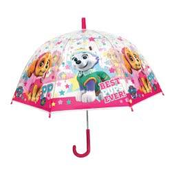chanos Kids Umbrella 48Cm Poe Domme Shape Paw Patrol Pink - Best Pups Ever 4671 5203199046711