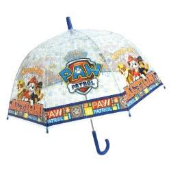 chanos Kids Umbrella 48Cm Poe Domme Shape Paw Patrol Blue - Best Pups Ever 4673 5203199046735