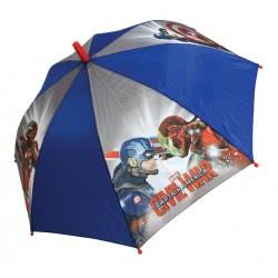 chanos Kids Umbrella 46Cm Captain America 9705 5203199097058