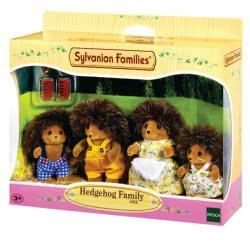 Epoch Sylvanian Families: Οικογένεια Hedgehog 4018 5054131040188