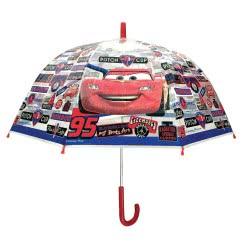 chanos Kids Umbrella Transparent 48Cm Poe Dome Shape Cars 3754 5203199037542