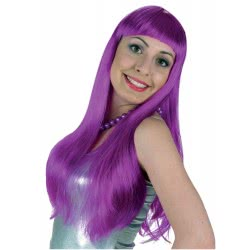CLOWN Carnival wig Lola, purple 70691 5203359706912