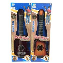 Toys-shop D.I Κιθάρα Rock Star Σε Κουτί 62 Εκ. - 2 Σχέδια JM078765 6990317787654