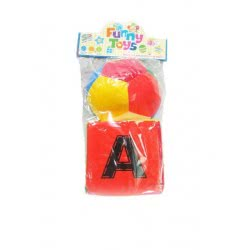 Toys-shop D.I Funny Toys Set Soft Ball And Soft Cube JK082496 6990317824960