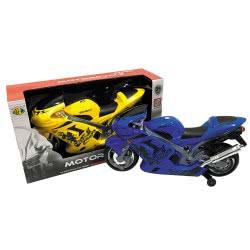 Toys-shop D.I Bo Μοτοσυκλέτα Αγωνιστική Μπαταρίας Με Ήχο Και Φώτα - 2 Χρώματα JB052643 6990317526437